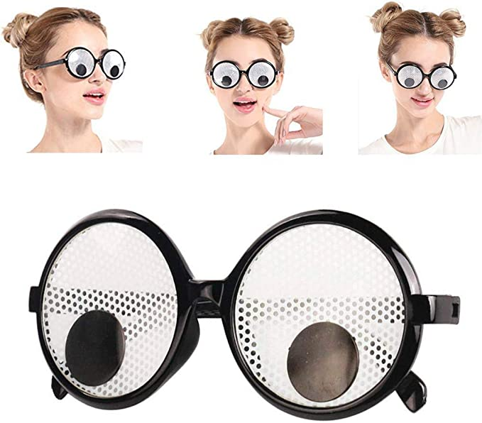 Magnify Your Eyes Bug Eye Specs Fancy Dress Glasses Specks New by Smiffys
