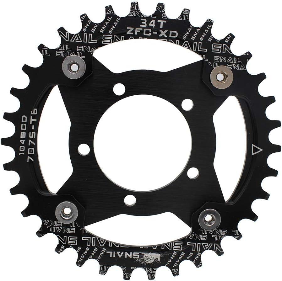 BDSNAIL Motor Bike Gear Adapter 36V//48V mid Drive Chainring Spider 104BCD 130BCD for bafang 8fun BBS01B BBS02B 250W 350W 450W 500W 750W 32T Kit