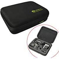 NEOpine Water Durability Outdoor Shock Absorbing Travel and Carrying Case NPE-1 for Gopro HERO Action Cameras 4/3+/3/2/1 Series (Medium Size)