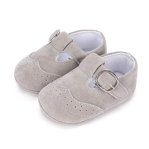 Klettverschluss Lauflernschuhe Kleinkind Baby Sneaker Rutschfeste Jungen Lacofia Mädchen AL5q3R4j