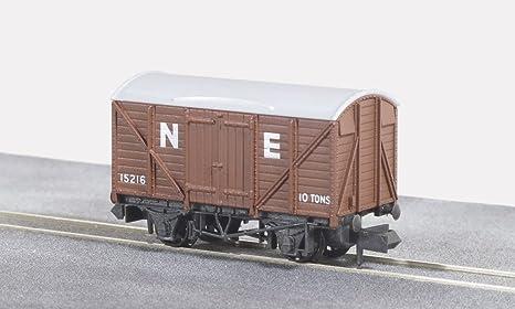 NR-P66 Peco N Gauge Grain Wagon brown