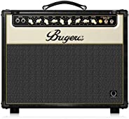 BUGERA V22-INFINIUM 22-Watt Vintage 2-Channel Combo with Infinium Tube Life Multiplier Brown & Cream, (V22
