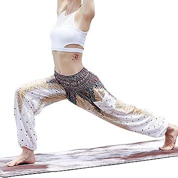 ShopSquare64 Bhemian Island Thai Linen Yoga Pantalones ...