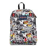 Classic Jansport Superbreak Backpack (Multi Comic Strip (T5010DY))
