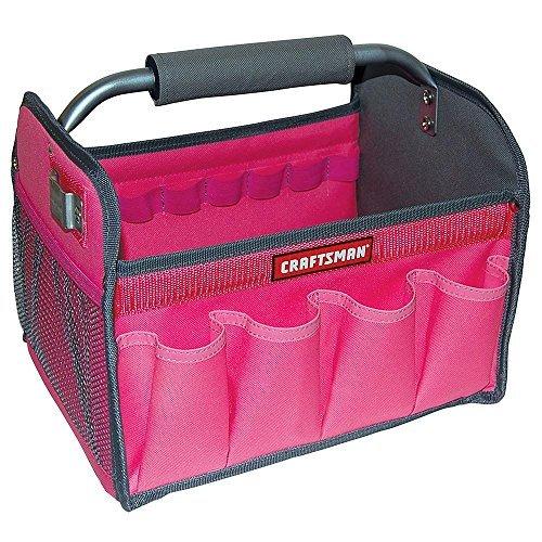 - Craftsman 12 in. Tool Totes - Pink