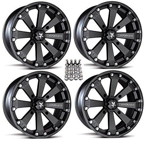 Wheels Black Honda Foreman Rancher