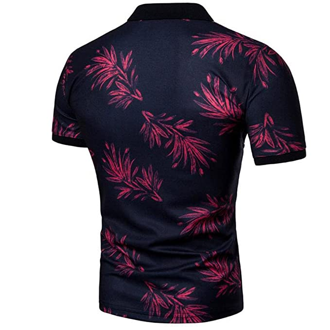 La nueva blusa superior de la manga corta impresa ocasional del verano de los hombres de la moda del diseño imprimió la blusa superior hombre lacoste ...