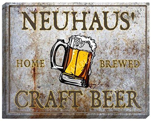 neuhaus-craft-beer-stretched-canvas-sign-16-x-20