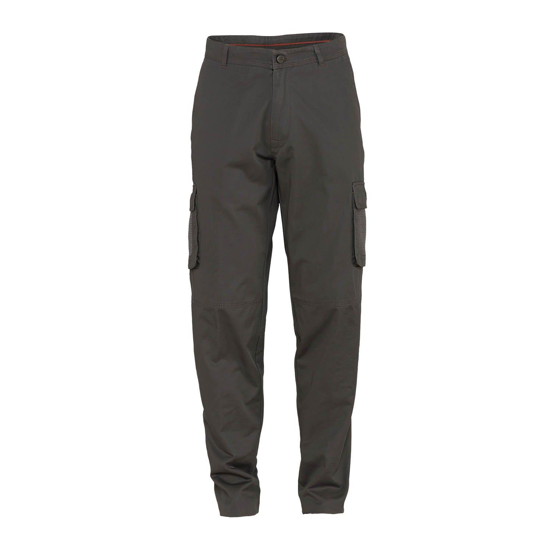 Jeep Man schwere Baumwolle Hose W MESH Taschen J4 W, grau (dunkelgrau), 48