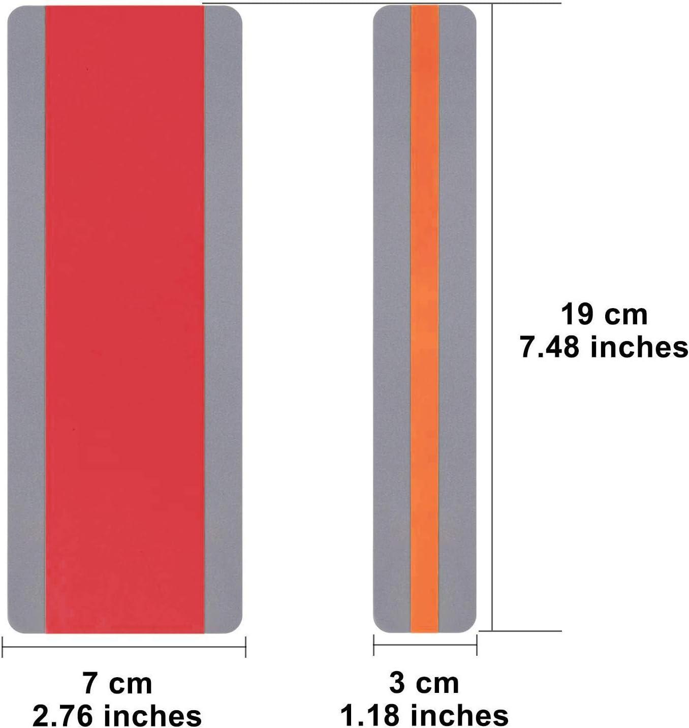 forniture educative speciali colori assortiti strisce colorate per dislessia bambini Confezione da 12 strisce di lettura guidate segnalibro