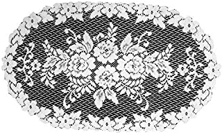 product image for Heritage Lace Victorian Rose 13-Inch by 24-Inch Doily, White, Set of 2