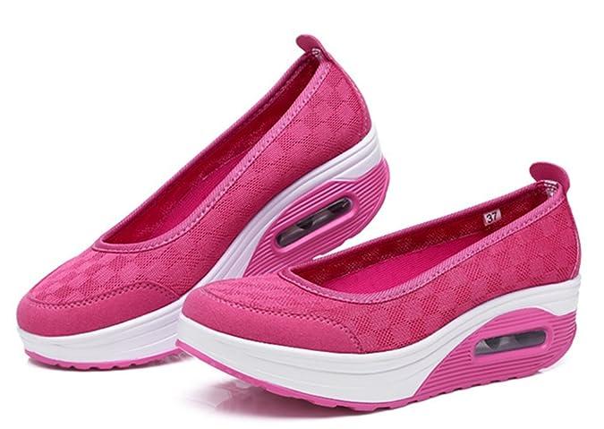 Newzcers Emmancher Chaussures Plate-forme Souple D'été En Respirant Les Femmes Célibataires Seulement zT5wZv