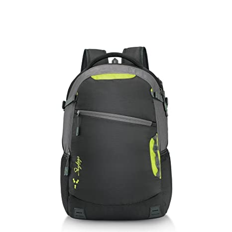 7aca065a19e7 Skybags 42 Ltrs Black Laptop Backpack (TECK4BLK)  Amazon.in  Bags ...