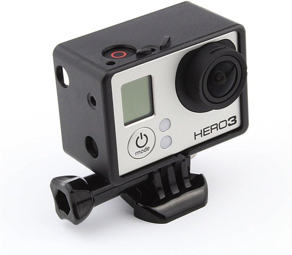 Lcd Bateria Bacpac Protector Marco estándar frontera Mount Para Gopro Hd Hero 3 3