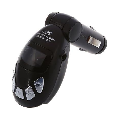 Amazon.com: SODIAL (R) Transmisor FM inalámbrico USB para ...