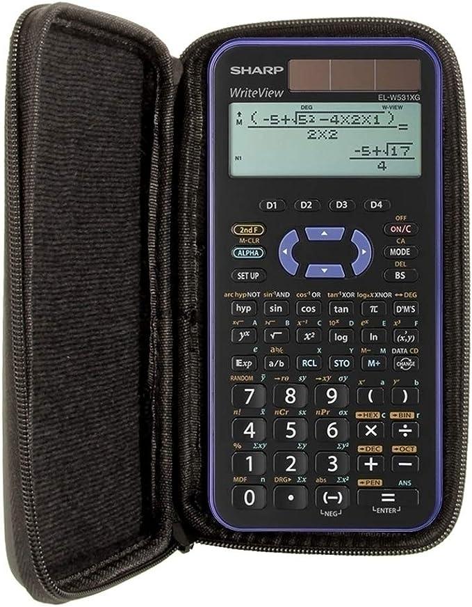 Schutztasche Für Taschenrechner Von Sharp Für Modell El W531xg