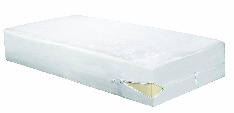 amazoncom clean rest pro waterproof allergy and bed bug blocking mattress encasement queen home u0026 kitchen