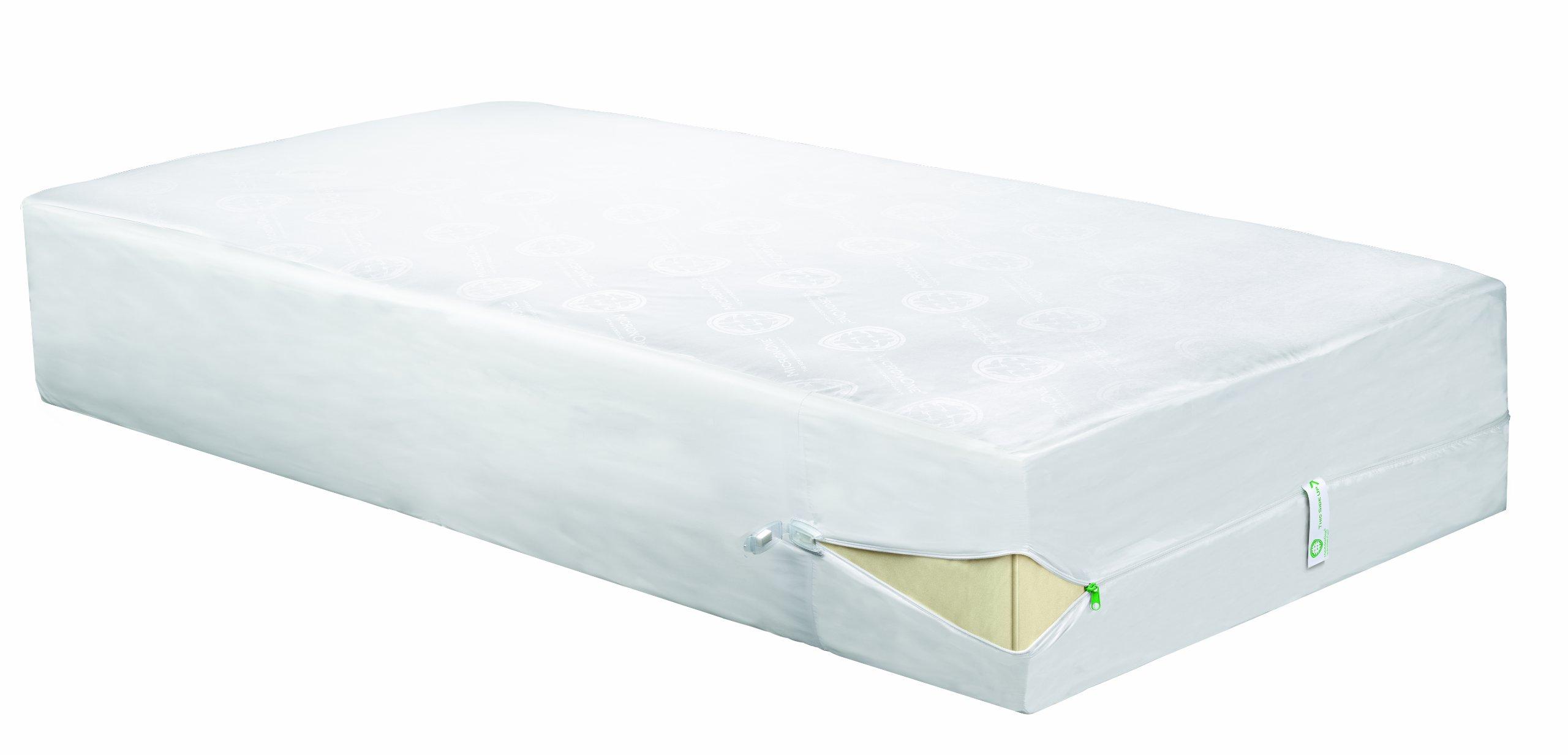 Clean Rest Pro Waterproof, Allergy and Bed Bug Blocking Mattress Encasement, Queen