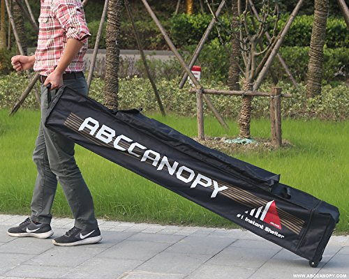 Canopy Roller Bag (ABCCANOPY 10x10 Universal Pop up Canopy Roller BAG Only Deluxe Heavy Duty)