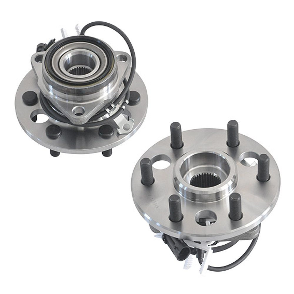 DRIVESTAR 515024-2P Pair Front Wheel Hub /& Bearing for Chevy Cadillac GMC ABS 4WD 6 Lugs