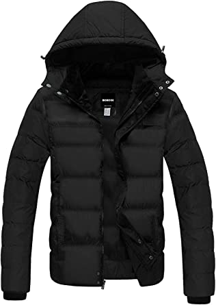 Winter Warm Thicken Down Men/'s Padded Coat Windproof Outdoor Ski Climbing Jacket