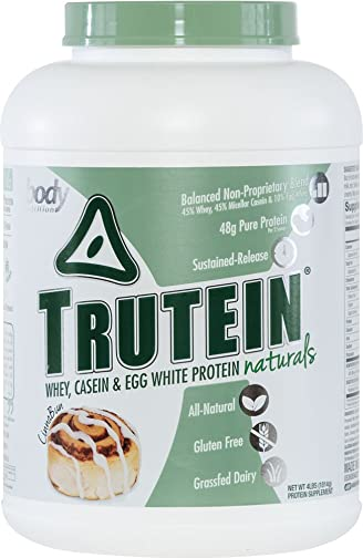 Body Nutrition Trutein Naturals CinnaBun Protein Blend 4 LB