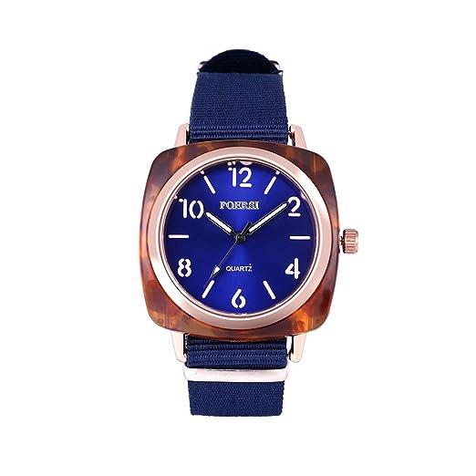 DAYLIN Marcas Relojes Hombre Mujer Reloj Cuadrado Hombre Deportivo Reloj Pulsera de Cuarzo Analogico Sport Wrist Watch Men: Amazon.es: Relojes