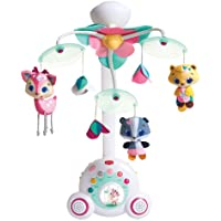 Tiny Love Tiny Princess Tales Soothe N Groove Baby Mobile, Pink