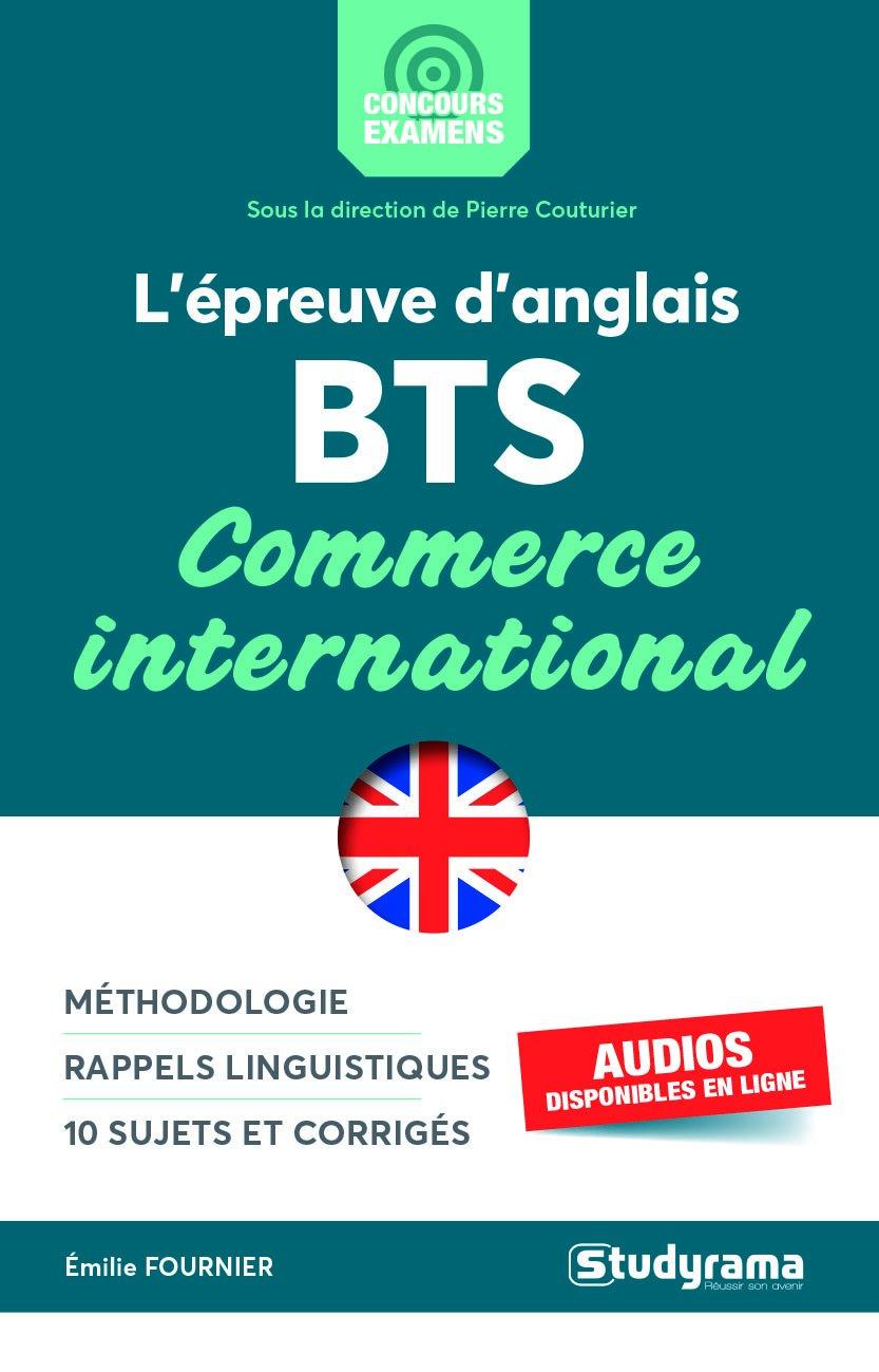 Lépreuve danglais au BTS Commerce international (French) Paperback – January 9, 2018