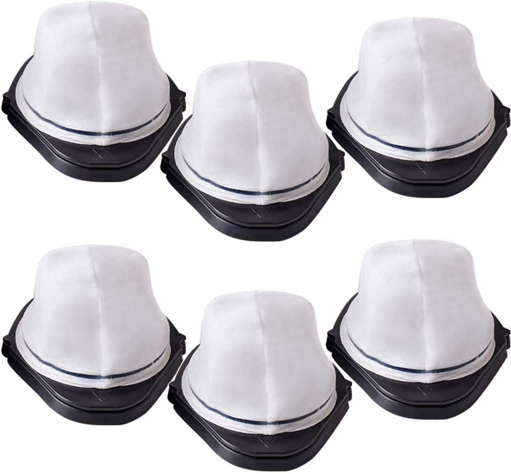 6 Pack Replacement Filter Dust Cup for Vacuum Shark Handheld SV780 SV75Z Replacement Part# XF769, XSB726N