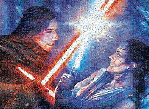 Star Wars - Photomosiac - Strong with The Force - 1000 Piece Jigsaw Puzzle