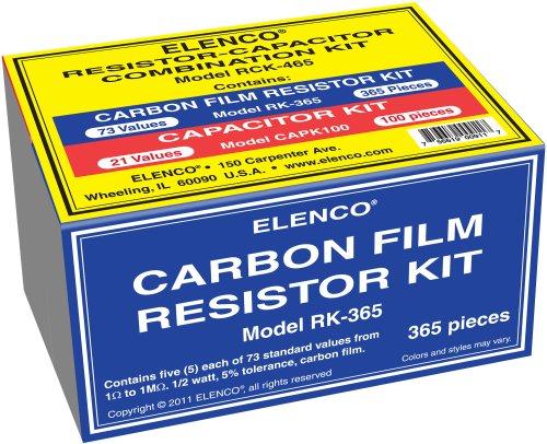 - Elenco  Resistor/Capacitor Combo kit  -  RCK-465