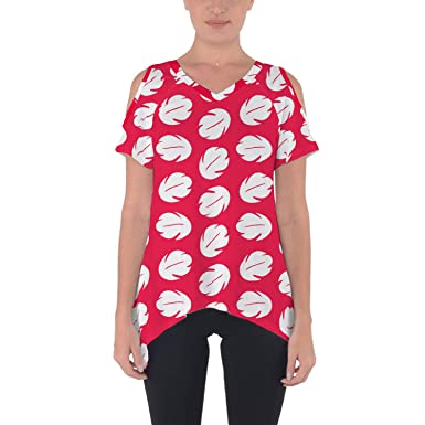 a49ad3f15fd0 Lilo Hawaiian Dress Disney Inspired Cold Shoulder Tunic Top at ...