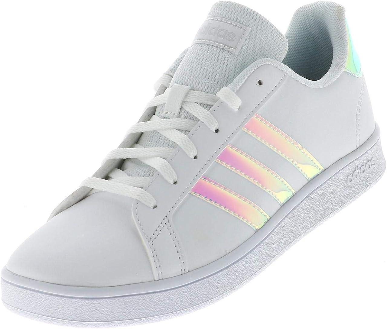 adidas Grand Court K, Chaussure de Tennis Mixte Enfant: Amazon.fr ...