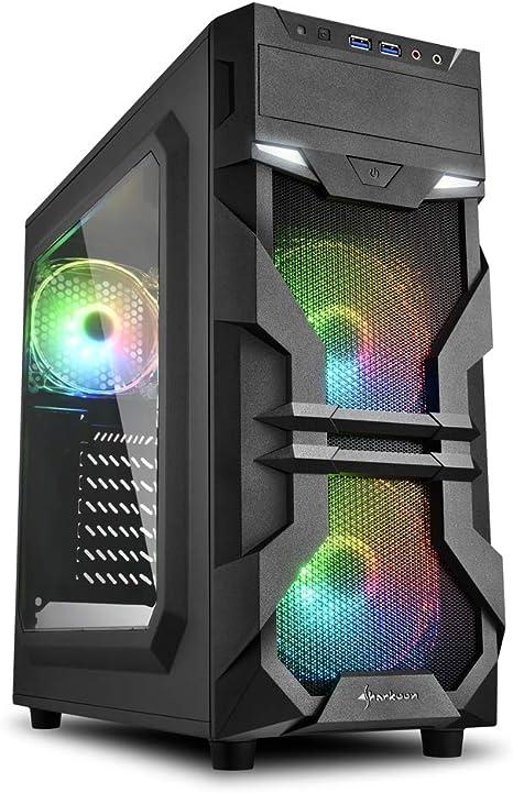 Caja Ordenador Multicolor RGB: Amazon.es: Informática