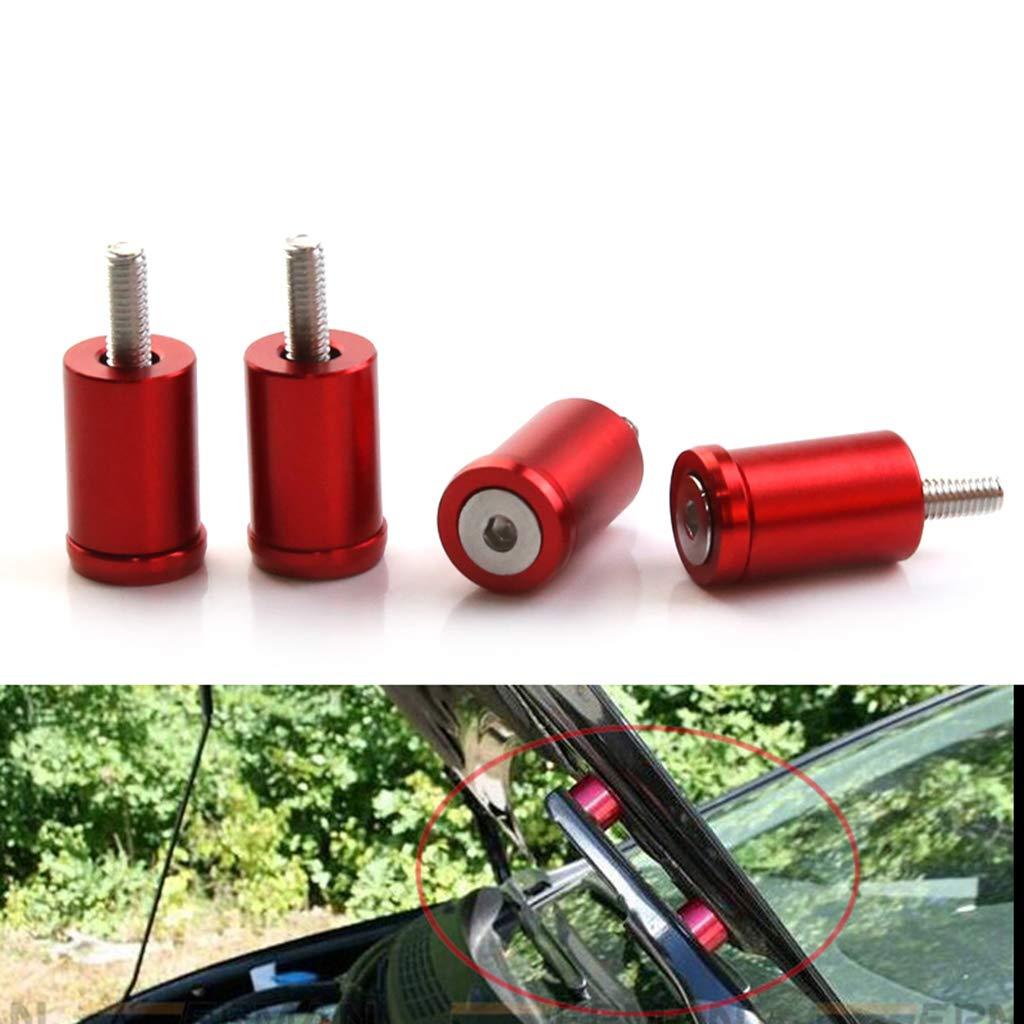 Car Hood Vent Spacer Riser Kits Green