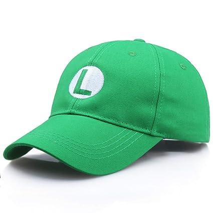 TTXSKX Gorras De Béisbol Unisex Comercio Al por Mayor Moda Super Mario Cap Hermanos Sombrero Mario