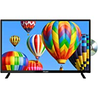 TEAC A4 Series 32 Inch Full HD LED Android Smart DVD Combo TV (12V), Black (LEV32A422), for Caravan or Home