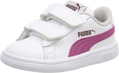 PUMA Smash V2 LV Inf, Sneakers Basses Mixte bébé