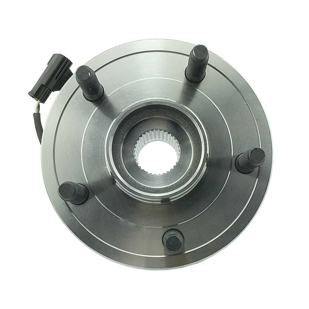 New Wheel Hub and Bearing Assembly w//ABS 4WD 5-Lug Front 1.515073