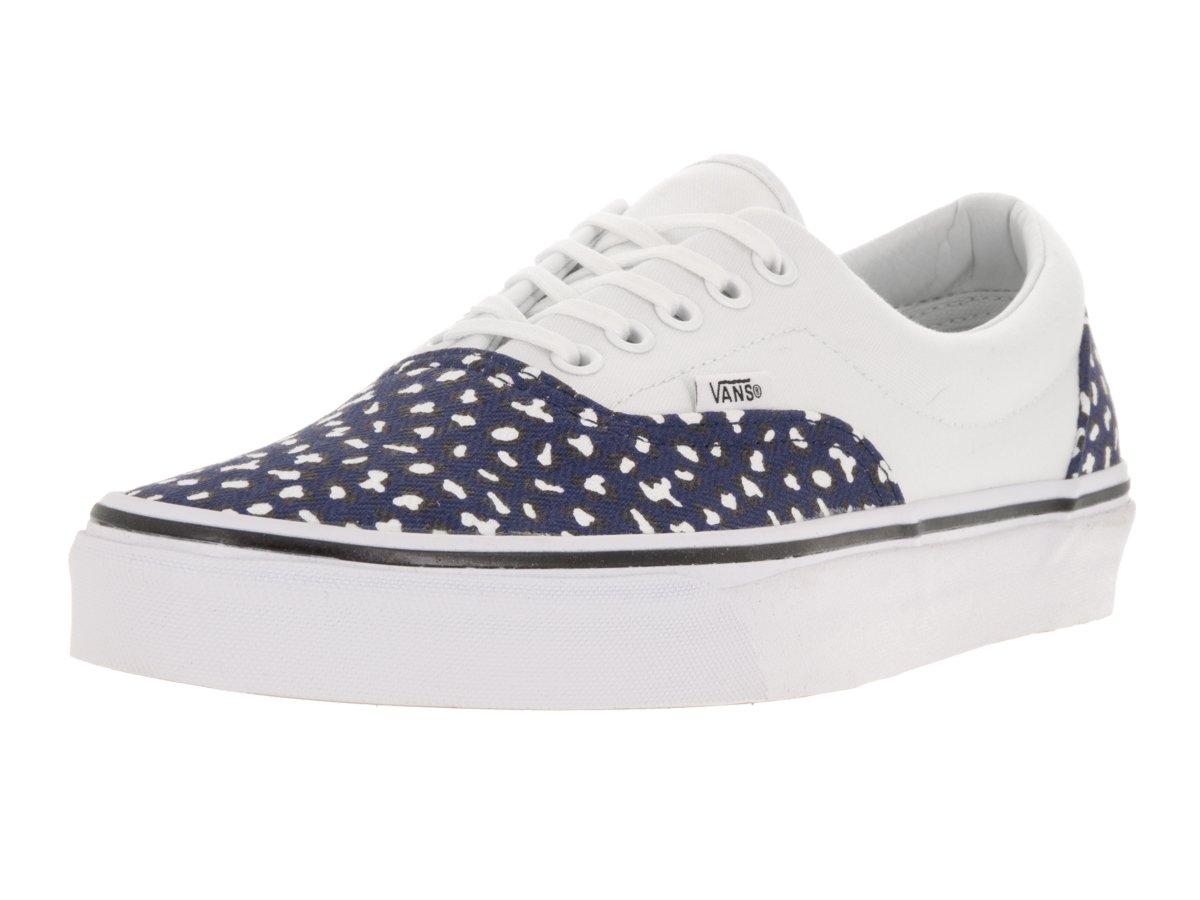 Vans Sneakers, Unisex-Erwachsene Era Classic Canvas Sneakers, Vans Mehrfarbig (Blau/Weiß) 810877