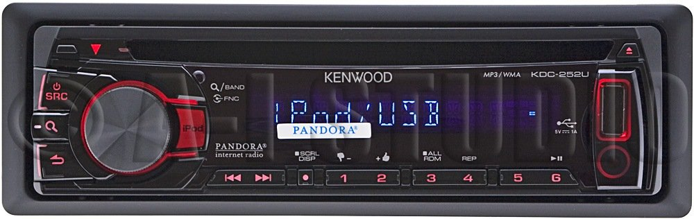 Amazon kenwood kdc 252u in dash usbcd receiver cell phones amazon kenwood kdc 252u in dash usbcd receiver cell phones accessories asfbconference2016 Images