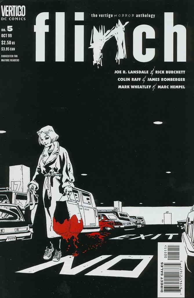 Flinch #5 VF/NM ; DC/Vertigo comic book