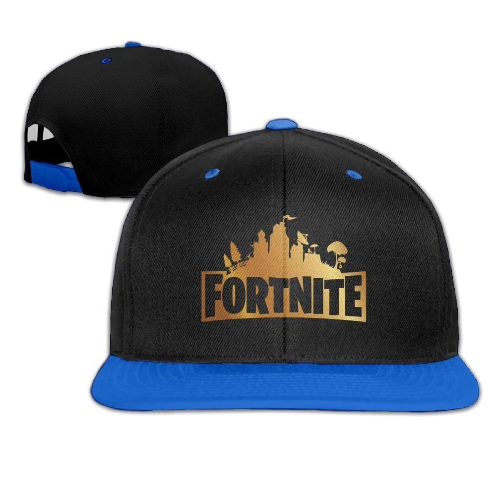 Fortnite Fashion Sport Cap Casual Hat (Blue)