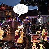 Meetory Christmas Mini Gutter Hang Hooks