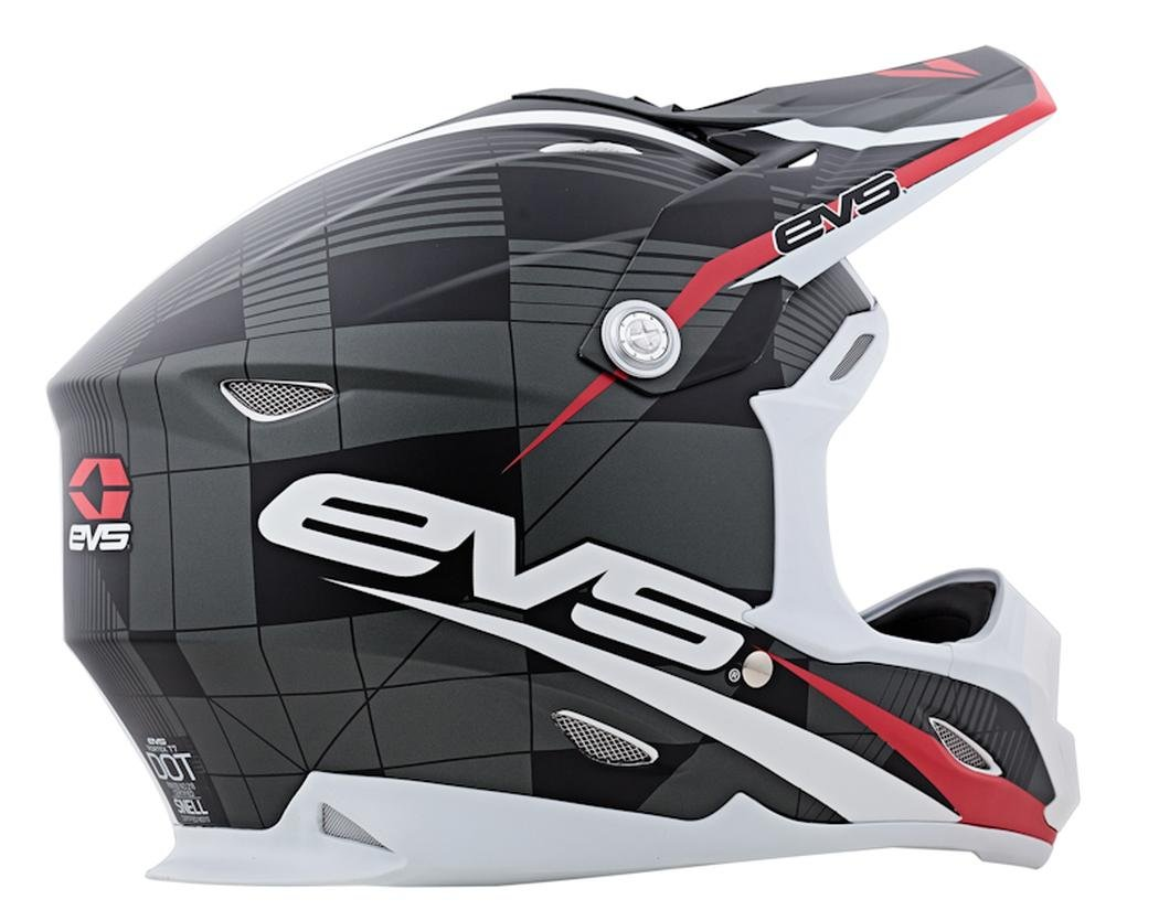 Amazon.com: EVS Sports Vortek T7 Helmet with Crossfade Graphic (Black, X-Large): Automotive