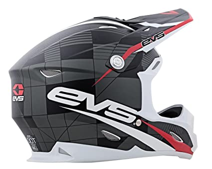EVS Sports Vortek T7 Helmet with Crossfade Graphic (Black, X-Large)