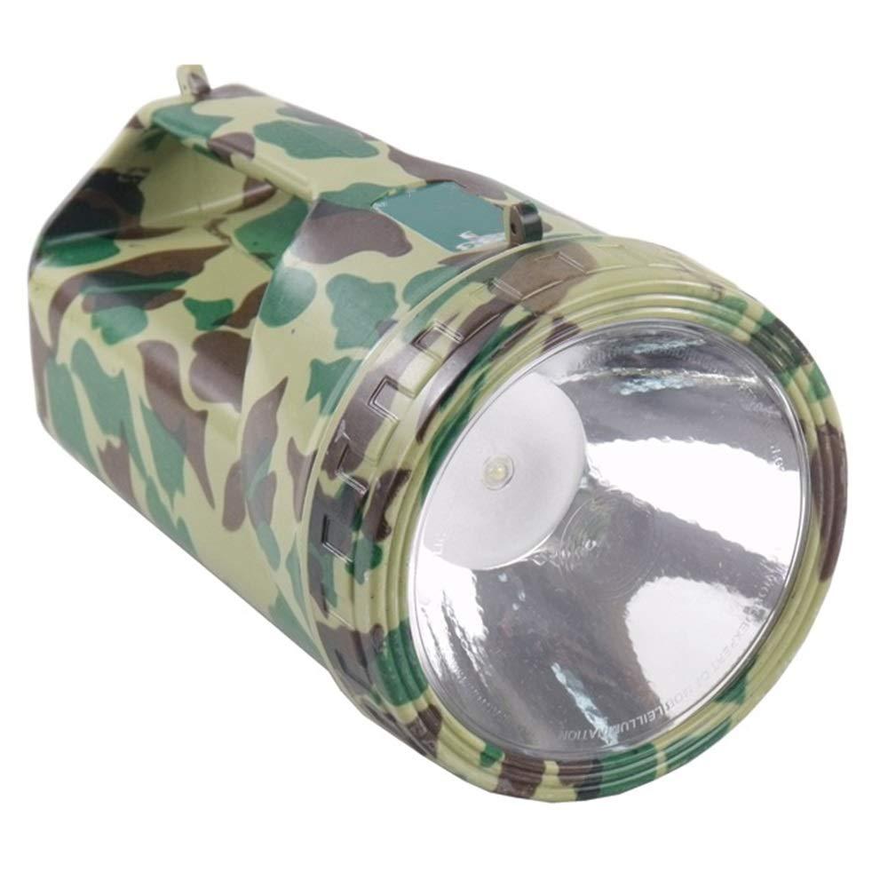SYXL Outdoor-LED-Scheinwerfer Lade Hand Camping Nacht Angeln Blendung Long-Range-Taschenlampe