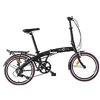 """Ecosmo 20AF09BL - Vélo de ville pliant 20"""" en alliage léger, 12kg"""