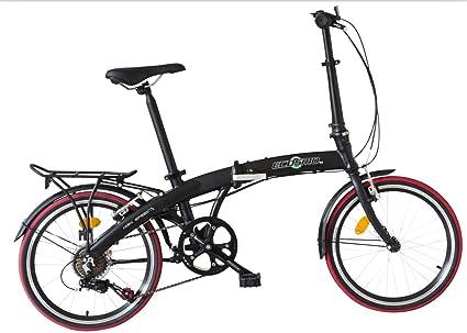 Bici Pieghevole Leggera.Ecosmo Bicicletta Pieghevole In Lega Leggera Con Ruote Da 20 Peso 12 Kg Codice Prodotto 20af09bl